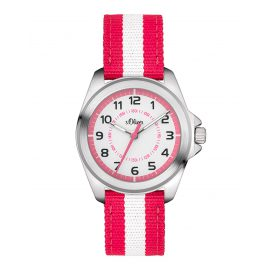 s.Oliver SO-3402-LQ Mädchen-Armbanduhr