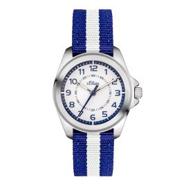 s.Oliver SO-3401-LQ Kinder-Armbanduhr