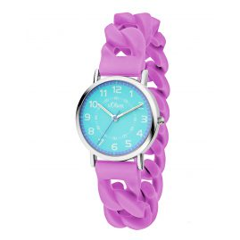 s.Oliver SO-3428-PQ Watch for Kids Lilac
