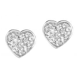 s.Oliver 9101870 Silber-Ohrringe Herz