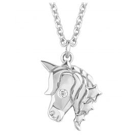 s.Oliver 2018520 Girls Necklace with Unicorn Pendant