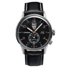Junkers 6940-5 Herrenuhr G38 Dual Time