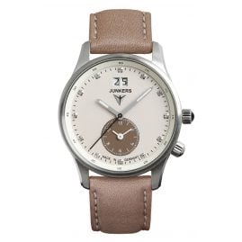 Junkers 6645-4 Iron Annie JU52 Dual Time Ladies Watch