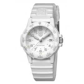 Luminox XS.0307.WO Unisex Wrist Watch Leatherback Sea Turtle White
