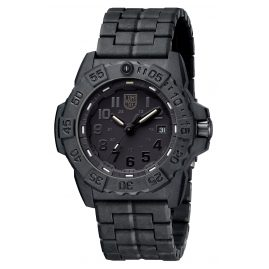 Luminox XS.3502.BO Mens Diver´s Watch Navy Seal Black