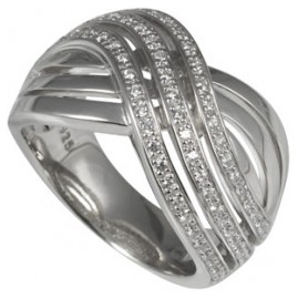 merii M0541R Silber Damenring