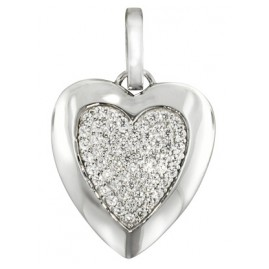 trendor 80265 Silber Anhänger Herz