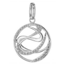 trendor 80753 Silber Zirkonia Anhänger