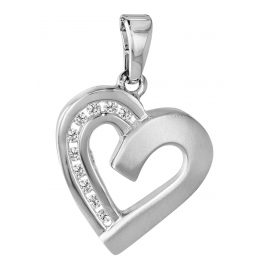 trendor 63874 Silver Pendant Heart