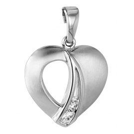 trendor 64406 Silber-Anhänger Herz