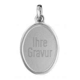 trendor 87257 Silber Gravurplatte