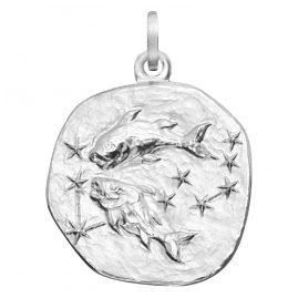 trendor 08455 Sternzeichen Fische Silber 20 mm