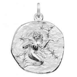 trendor 08461 Sternzeichen Jungfrau Silber 20 mm