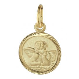 trendor 08618 Guardian Angel Pendant Gold 585