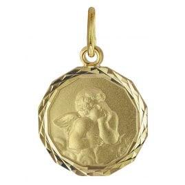 trendor 08619 Gold 585 Anhänger Schutzengel