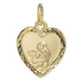 trendor 08620 Guardian Angel Pendant Gold 585