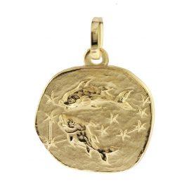 trendor 08727 Sternzeichen-Anhänger Fische Gold 333