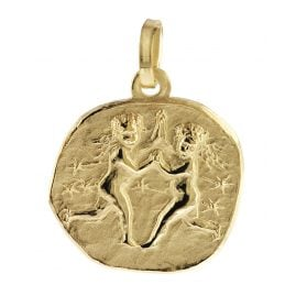 trendor 08730 Sternzeichen-Anhänger Zwilling Gold 333