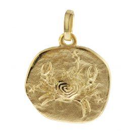trendor 08731 Sternzeichen-Anhänger Krebs Gold 333