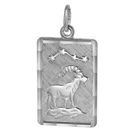 trendor 08737 Sternzeichen-Anhänger Steinbock Silber
