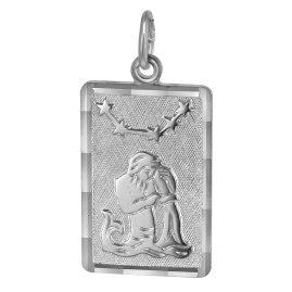 trendor 08738 Sternzeichen-Anhänger Wassermann Silber
