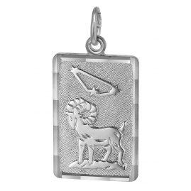 trendor 08740 Sternzeichen-Anhänger Widder Silber