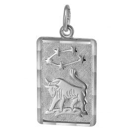 trendor 08741 Sternzeichen-Anhänger Stier Silber