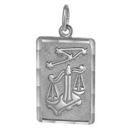trendor 08746 Sternzeichen-Anhänger Waage Silber
