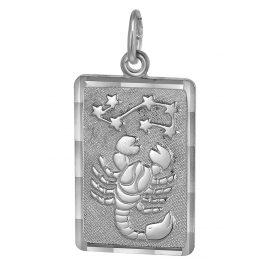 trendor 08747 Sternzeichen-Anhänger Skorpion Silber