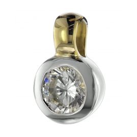 trendor 08698 Pendant with Cubic Zirconia Gold 333/8 ct