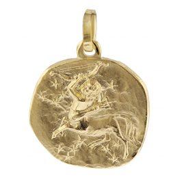 trendor 08969 Sternzeichen-Anhänger Schütze Gold 585