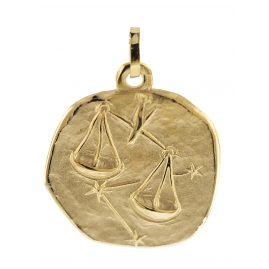 trendor 08991 Zodiac Pendant Libra Gold 333/8 ct