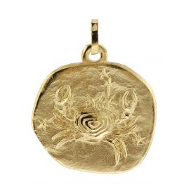 trendor 08988 Zodiac Pendant Cancer Gold 333/8 ct