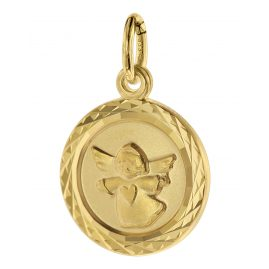 trendor 75106 Kids Pendant Angel 333 Gold/8 Carat 12 mm