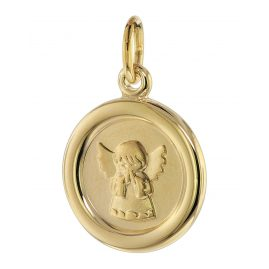 trendor 75107 Children's Angel Pendant 333 Gold 8 Carat 12 mm