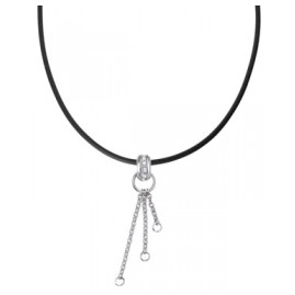trendor 63508 Silber Charms Collier