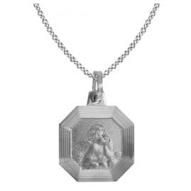 trendor 87547 Silberkette mit Amor