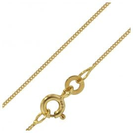 trendor 72436 Gold Chain 333 Curb