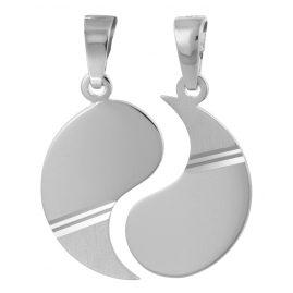trendor 79626 Silber Partner-Anhänger