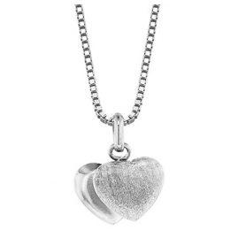 trendor 35905 Silberkette mit Herz-Anhänger
