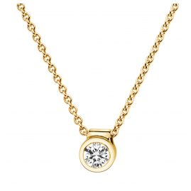 trendor 532525 Damen Gold-Collier mit Diamant