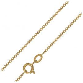 trendor 08435 Halskette für Anhänger Goldplattiert Rundanker