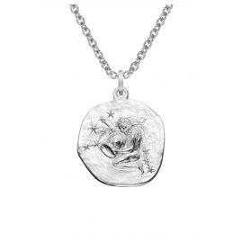 trendor 08442 Silber Sternzeichen Wassermann mit Halskette