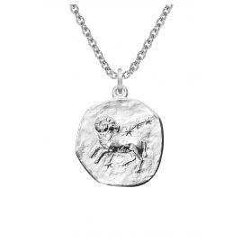 trendor 08444 Silber Sternzeichen Widder mit Halskette