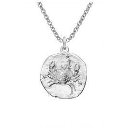 trendor 08447 Silber Sternzeichen Krebs mit Halskette