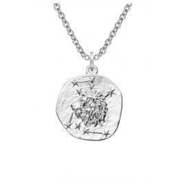 trendor 08448 Silber Sternzeichen Löwe mit Halskette