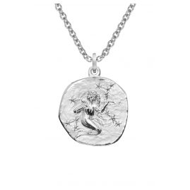 trendor 08449 Silber Sternzeichen Jungfrau mit Halskette