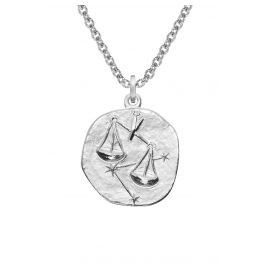 trendor 08450 Silber Sternzeichen Waage mit Halskette