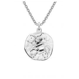 trendor 08452 Silber Sternzeichen Schütze mit Halskette