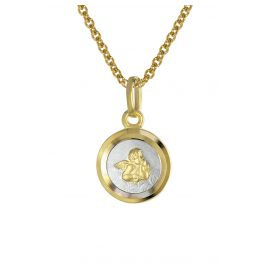 trendor 08560 Angel Pendant Children's Necklace Gold 333/8K